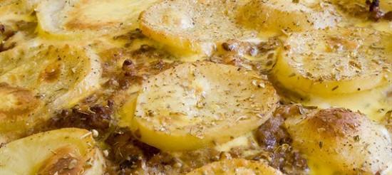 Картопляний гратен – рецепт