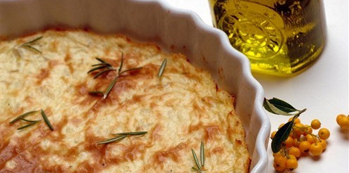 Картопляний пиріг до м'яса – рецепт