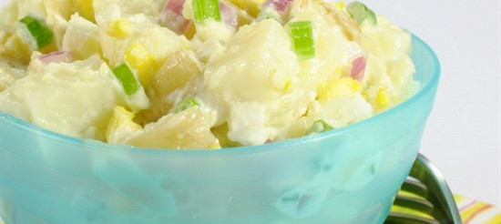 Картопляний салат з сиром рокфор – рецепт