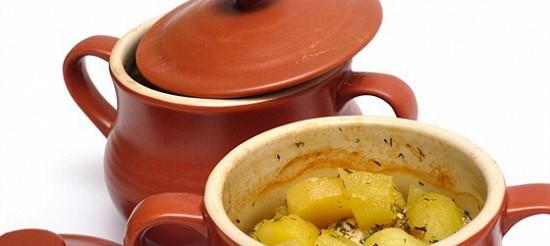 Картопля в горщику – рецепт
