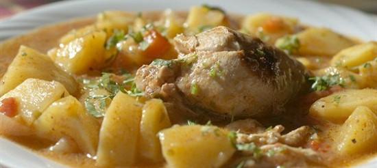 Картопля з гострим соусом – рецепт