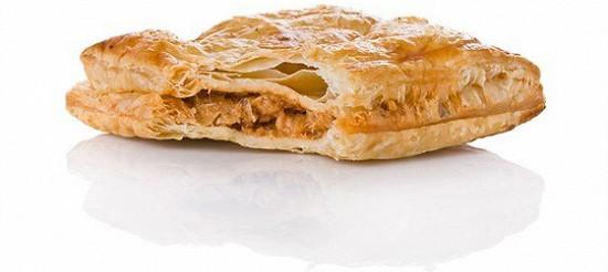 Листковий пиріг з тунцем – рецепт