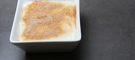 Рисовий пудинг з апельсиновою цедрою – рецепт