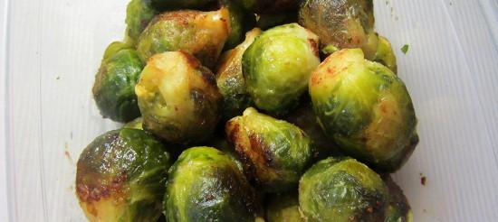 Смажена брюссельська капуста – рецепт