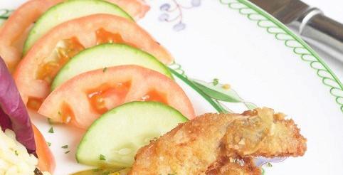 Смажені томатні скибочки в хлібних крихтах – рецепт