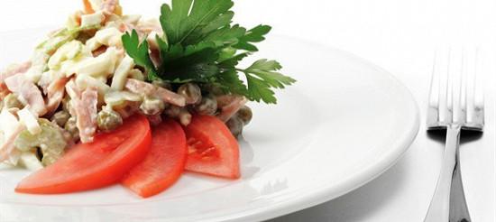 Салат з мов – рецепт