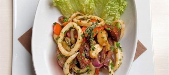 Салат з кальмарів з тайською – рецепт