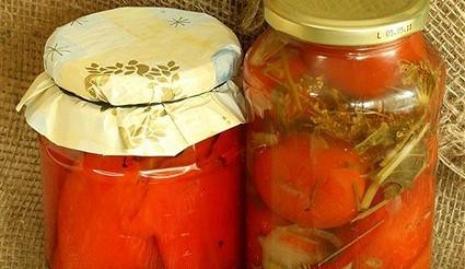 Солоні помідори – рецепт