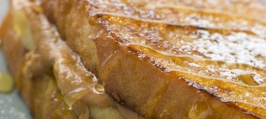 Бутерброд за рецептом Елвіса Преслі – рецепт