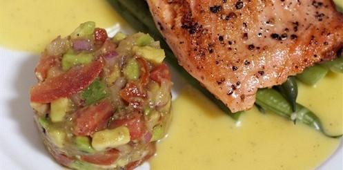 Соус яєчно-масляний (до відвареної риби) – рецепт
