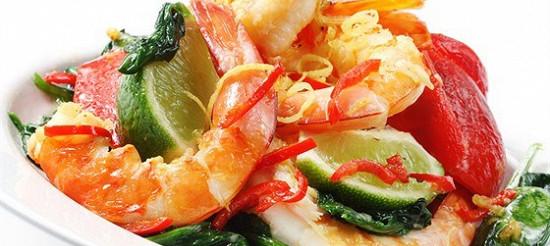 Креветки зі шпинатом – рецепт