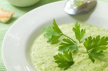 Суп-пюре з риби і кабачків – рецепт