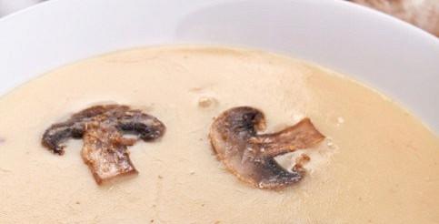 Суп-пюре зі свіжих грибів – рецепт