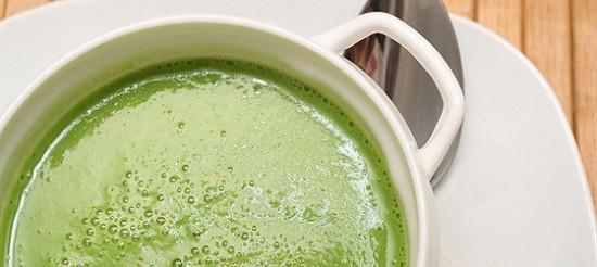 Суп-пюре з зеленого горошку – рецепт