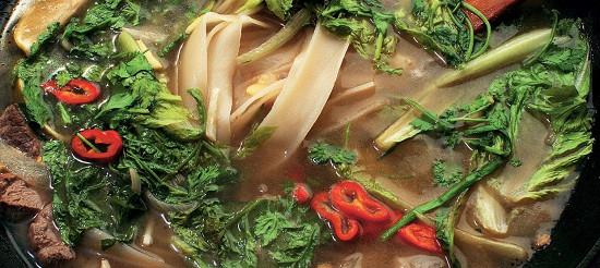 Суп з рисовою локшиною і бараниною – рецепт