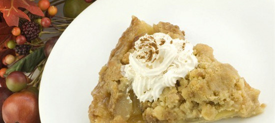 Швидкий яблучний пиріг з медом – рецепт