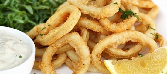 Кальмари з сіллю і перцем – рецепт