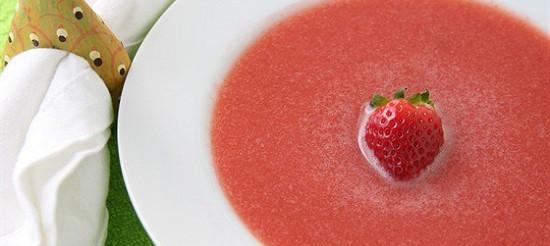 Суп суничний – рецепт