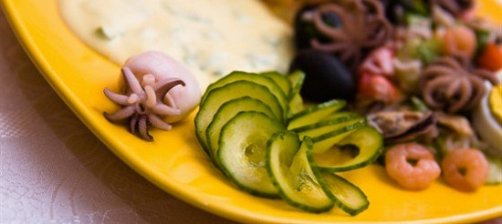 Соус для салату з морепродуктів – рецепт