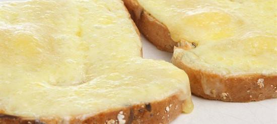 Тости з сиром – рецепт