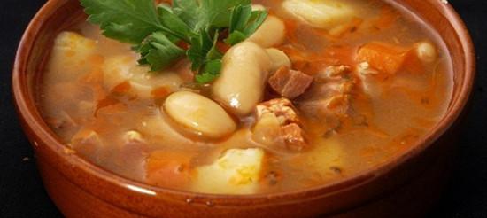 Томатно-квасолевий суп – рецепт