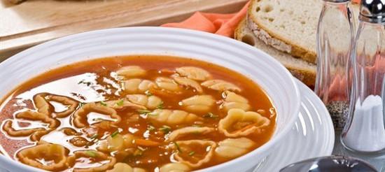 Тосканський суп з квасолі і пасти з розмарином – рецепт