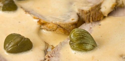 Телятина під кремом з тунця – рецепт