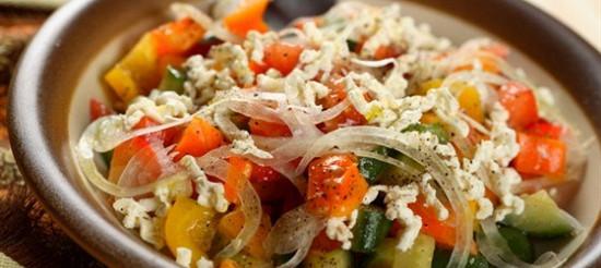Овочевий гарнір (Піперада) – рецепт