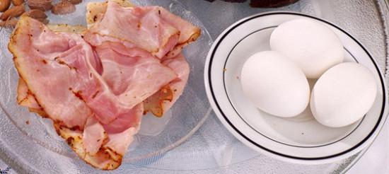 Йоркська шинка з яйцем – до супу – рецепт