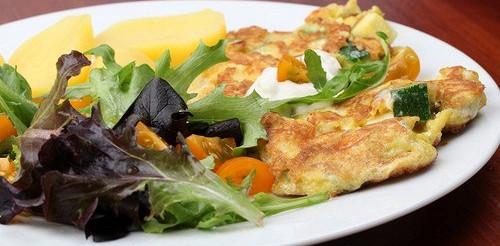 Кабачки з яйцем – рецепт